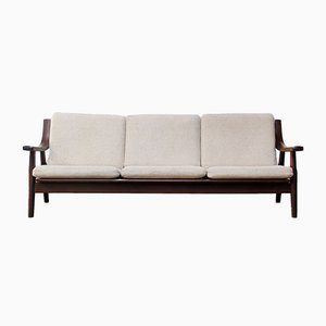 Vintage Model GE-530 Sofa by Hans J. Wegner for Getama