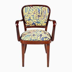 Vintage Italian Walnut Armchair