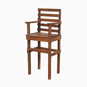 Vintage Modernist Dutch Children's Chair