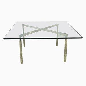 Tavolo Barcelona di Ludwig Mies van der Rohe per Knoll Inc., anni '60
