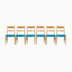 Mid-Century Swedish Dining Chairs, 1960s, Set of 6