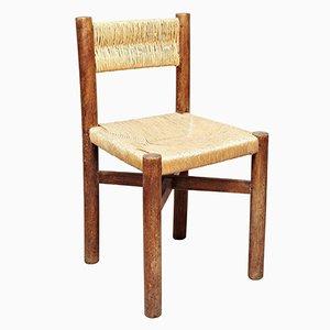 Meribel Stuhl von Charlotte Perriand für Georges Blanchon, 1950er