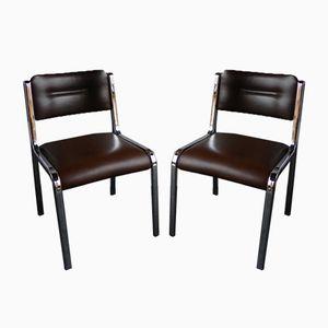 Vintage Bürostühle, 1970er, 2er Set