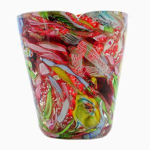 Murano Glass Tutti Frutti Vase from Arte Vetraria Muranese, 1960s