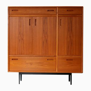 Vintage Danish Teak Highboard from Dyrlund