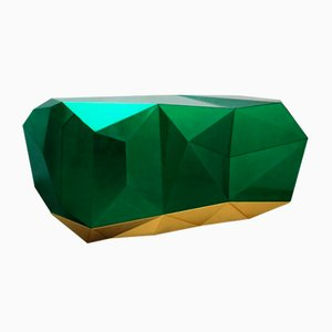 Credenza Diamond color smeraldo di Covet House