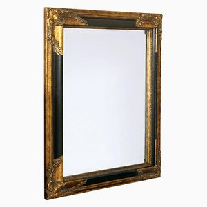 Florentine Art Deco Mirror with Carved Frame, 1940s