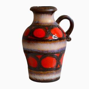 Vase 400/25 Fat Lava de Scheurich, 1960s