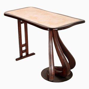 Tavolino in legno di noce, Italia