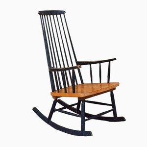 Scandinavian Rocking Chair, 1950s