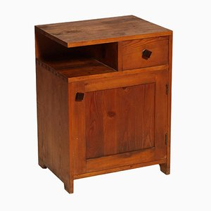 Art Deco Nightstand in Larch