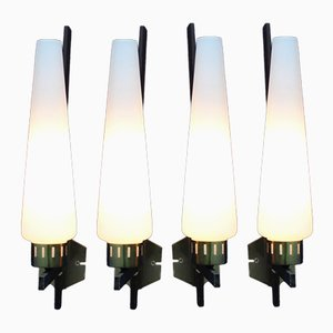 Wall Lights from Stilux Milano, 1960s, Set of 4