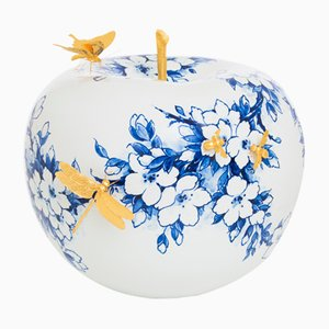 Touch of Gold II Apple de Sabine Struycken para Royal Delft