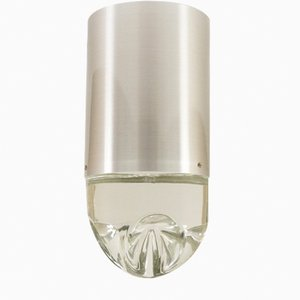Glass Model P-1415 Ceiling Lamp from Raak, 1970s