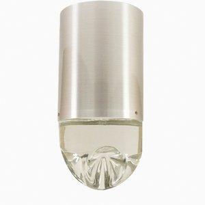 Lampada da soffitto P-1416 in vetro di Raak, anni '70