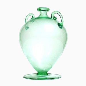 Murano Glass Soffiati Vase by Vittorio Zecchin for MVM, 1920s