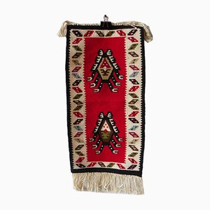 Alfombra Kilim vintage tejida a mano, años 60