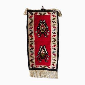 Handgearbeiteter Vintage Teppich, 1960er