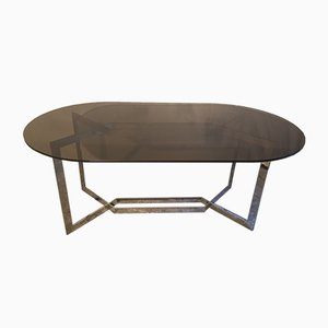 Dialogue Dining Table by Paul Legeard for DOM, 1970s