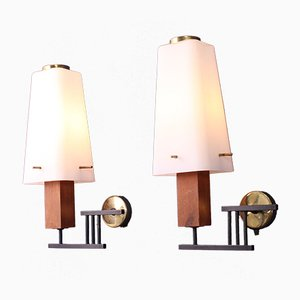 Lampade da parete vintage di Stilux Milano, set di 2