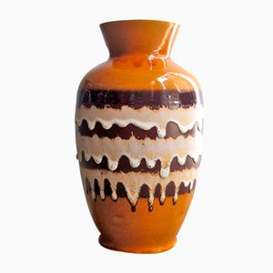 Vaso da terra vintage in ceramica di Bay