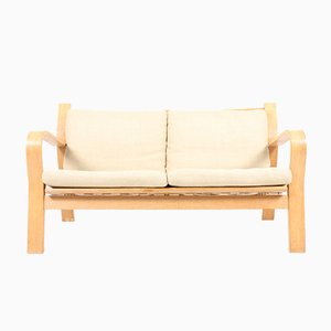 Vintage Danish GE671 Sofa by Hans J. Wegner for Getama