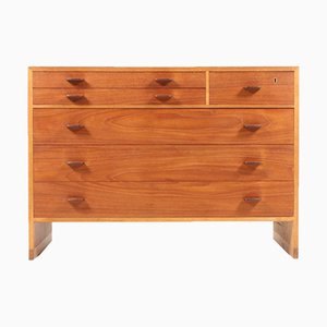 Vintage RY16 Oak & Teak Chest of Drawers by Hans J. Wegner for Ry Møbler