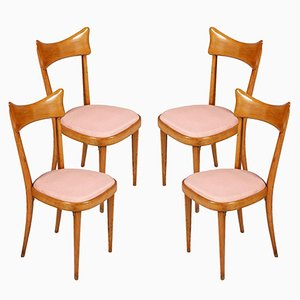 Mid-Century Modern Dining Chairs, Set of 4