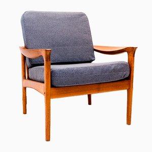 Dänischer Teak Sessel von Illum Wikkelsø für Glostrup, 1960er