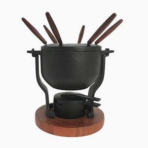 Vintage Danish Fondue Set from Digsmed