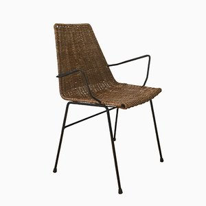 Wicker Armchair, 1960s