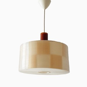 Mid-Century Rhodoid & Resin Pendant Light from Rotaflex Heifetz, 1960s