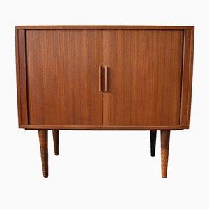 Danish Teak Record Cabinet by Kai Kristiansen for FM Møbler, 1960s
