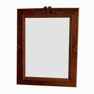 Specchio vintage in legno intagliato