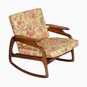 Rocking Chair en Noyer par Adrian Pearsall, 1950s