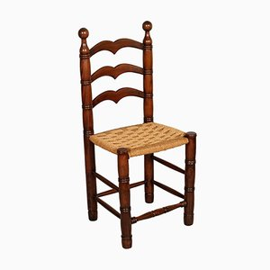 Italienischer Vintage Pisane Stuhl aus Eichenholz von Antonio Calligaris