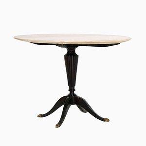 Tavolino da caffè Art Deco in mogano ed onice di Paolo Buffa per Cassina