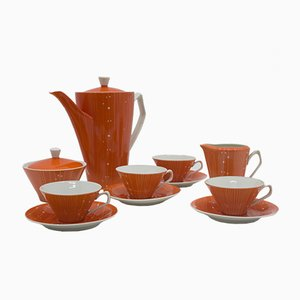 Vintage Elżbieta Coffee Service from Polskie Fabryki Porcelany Chodzież
