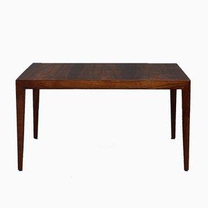Grande Table Basse en Palissandre de Rio par Severin Hansen pour Haslev Møbelsnedkeri, 1960s