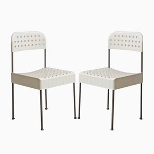 Box Chairs by Enzo Mari for Castelli, 1969, Set of 2