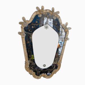 Mid-Century Murano Glass Mirror