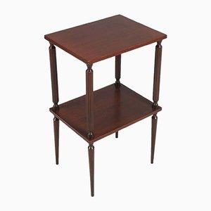 Mid-Century Mahogany Modern Side Table