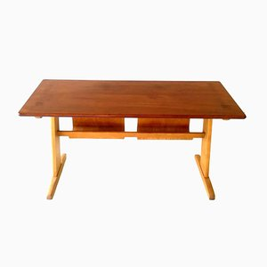 Buchenholz Schreibtisch von Casala, 1970er