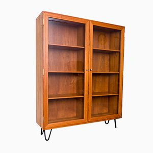 Large Danish Teak Showcase by Kaj Winding, 1970s
