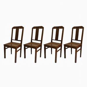 Vintage Stühle, 1950er, 4er Set