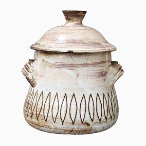 Mid-Century Decorative Jar by Jacques Pouchain for Atelier Dieulefit, 1960s