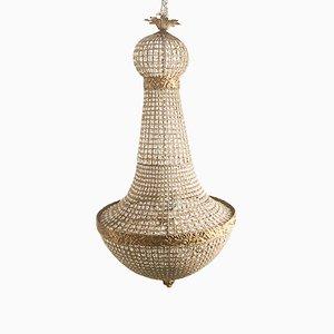 Large Imperial Crystal Basket Chandelier