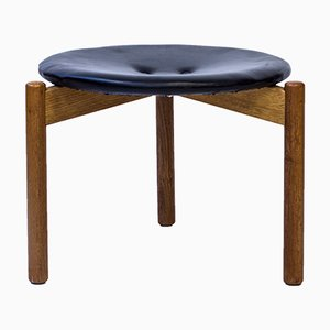 Swedish Stool by Uno & Östen Kristiansson for Luxus, 1960s
