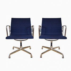 Vintage EA 118 Aluminium Stühle von Charles & Ray Eames für Vitra, 2er Set