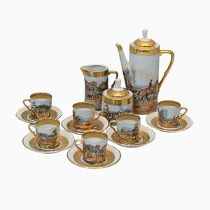 Mid-Century Limoges Porzellan Kaffeeservice